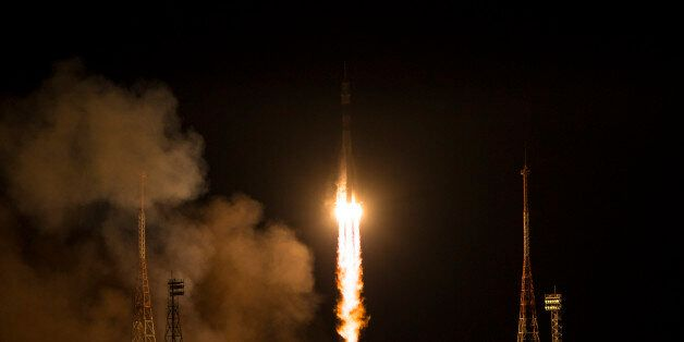 BAIKONUR, KAZAKHSTAN - NOVEMBER 24: In this handout provided by the National Aeronautics and Space Administration...