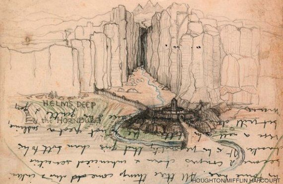 Για πρώτη φορά στη δημοσιότητα 180 σκίτσα του Tolkien για τον «Άρχοντα των