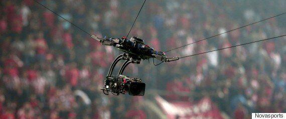 Η Super League αφ' υψηλού: Εικόνες από sky