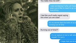 Έστειλε στον πρώην της τους στίχους του «Hello» της Adele και οι απαντήσεις του είναι σκέτη