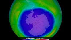 Μεγαλύτερη σε έκταση από την Ρωσία και τον Καναδά μαζί, η τρύπα τους όζοντος πάνω από την