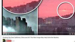 «Ιπτάμενη πόλη» και πάνω από την Βρετανία: Αναφορές του περίεργου φαινομένου και στο
