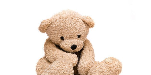 Teddy-bear isolated on a white