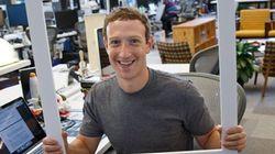 Mark Zuckerberg, en bon parano, cache sa webcam sur son