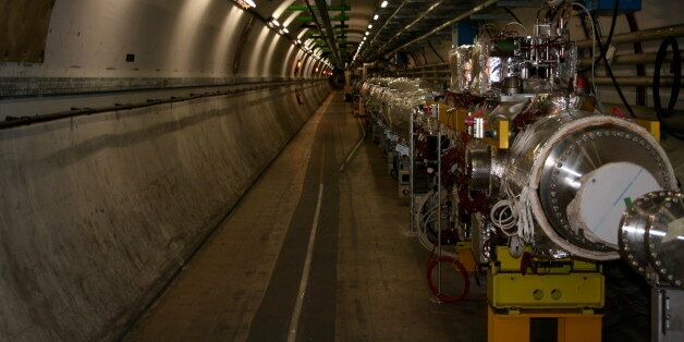 Down in the LHC Tunnel at