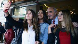 Οι selfies του Βαγγέλη Μεϊμαράκη στη