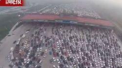 Μποτιλιάρισμα Made in China: 45 λωρίδες δεν είναι