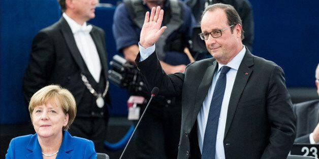 Ευρωπαϊκό Κοινοβούλιο: Για πρώτη φορά μετά το τέλος του ψυχρού πολέμου, οι ηγέτες Γερμανίας και Γαλλίας...