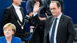 Ευρωπαϊκό Κοινοβούλιο: Για πρώτη φορά μετά το τέλος του ψυχρού πολέμου, οι ηγέτες Γερμανίας και Γαλλίας εμφανίζονται από