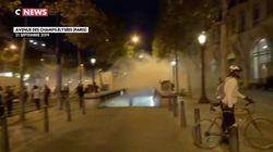Des tensions sur les Champs-Élysées après une journée de