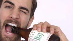 Πως να ανοίξετε ένα μπουκάλι μπύρας με ένα συρραπτικό ή το ρολόι σας (ή γενικά με τα