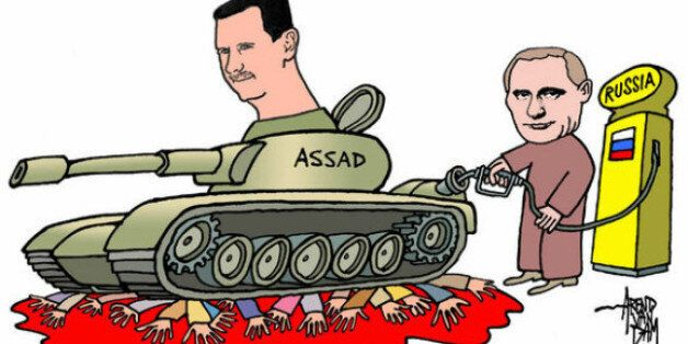 Russia's Putin is Fulling Assad's Tanks and