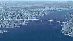 Η επανάσταση της μηχανικής: Μια πεζογέφυρα που θα συνδέει το Μανχάταν με το Νιου