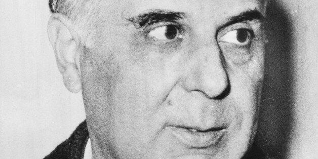 Greek poet and Nobel prizewinner (1963 Literature) George Seferis, circa 1963. (Photo by Keystone/Hulton...