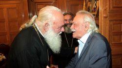 Ιερώνυμος: Ο Μανώλης Γλέζος μου ζήτησε εκκλησιαστική