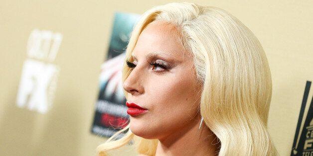 Lady Gaga attends the LA Premiere Screening