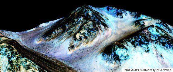 NASA: Νερό σε υγρή μορφή στον