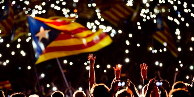 Pro independence supporters