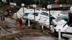 Νεκροί και αγνοούμενοι στη Γαλλία από τις πλημμύρες. Μεγάλες καταστροφές στην Κυανή