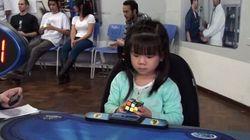 Τρίχρονη από την Βραζιλία λύνει τον κύβο του Ρούμπικ σε μόλις 47