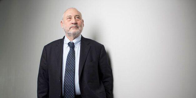 Joseph Stiglitz, Nobel prize-winning economist and professor of economics at Columbia University, poses...
