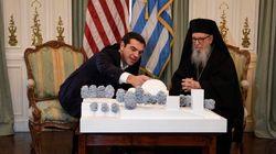 Συνάντηση Τσίπρα με τον Αρχιεπίσκοπο Αμερικής,