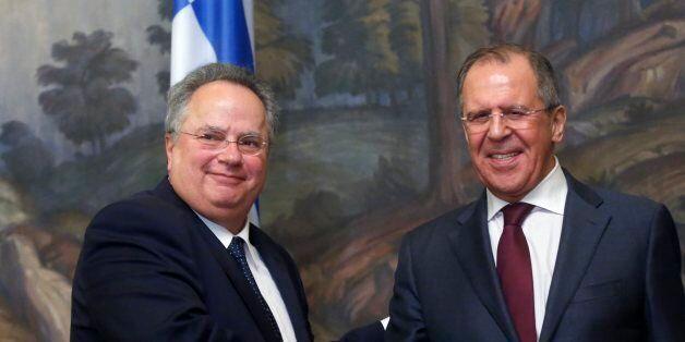 Επίσκεψη Υπουργού ΕξωÏερικών Ν. ΚοÏζιά σÏη Ρωσία και συνάνÏηση...