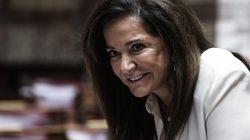 Η Μπακογιάννη δηλώνει τώρα πως στηρίζει την υποψηφιότητα του Κυριάκου Μητσοτάκη για την προεδρία της