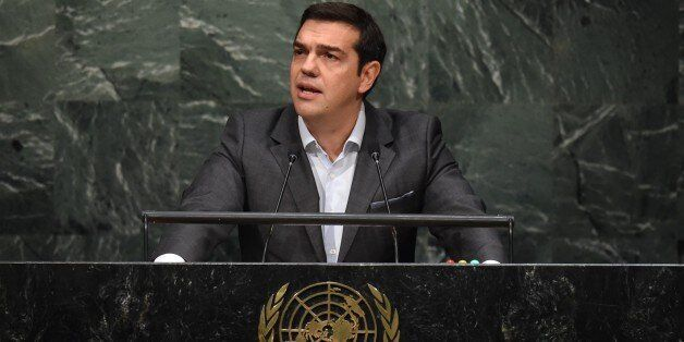 Alexis Tsipras, Prime Minister of Greece, speaks to the United Nations Sustainable Development Summit...