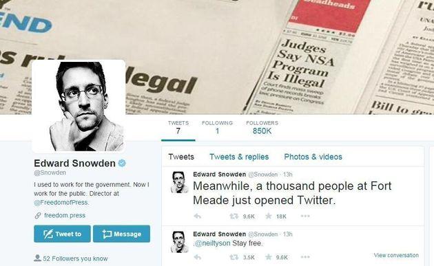 «Can you hear me now?». To πρώτο tweet του Σνόουντεν που τρολάρει την ΝSA και προκαλεί παραλήρημα στους