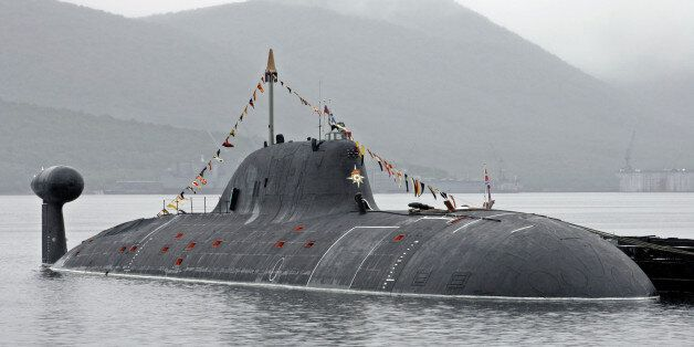 ** FILE ** One of Russia's Shchuka (Pike) class (NATO name: Akula) Soviet-built nuclear submarines is...