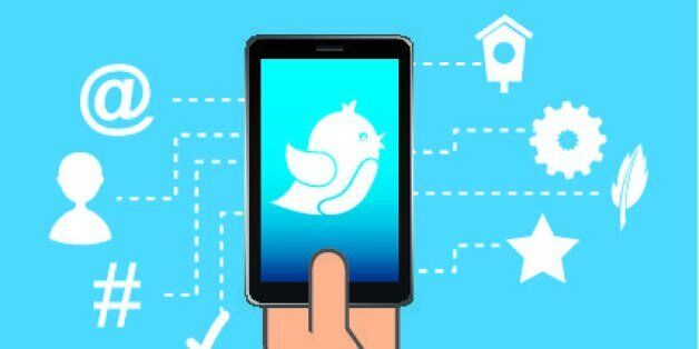 smartphone design over blue background vector
