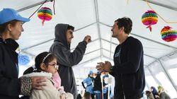 Κέντρο υποδοχής προσφύγων στη Γευγελή επισκέφτηκε ο Ορλάντο