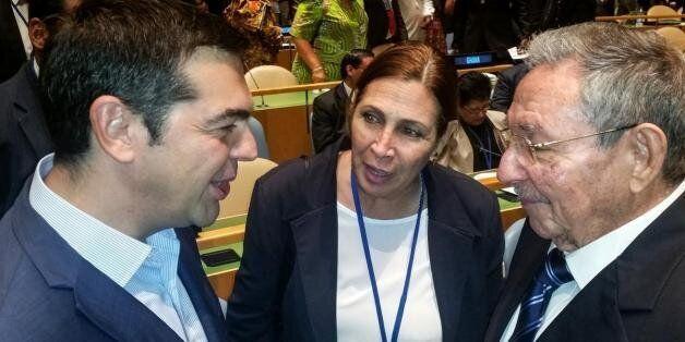 Σειρά επαφών Τσίπρα στον ΟΗΕ: Τηλεφωνική επικοινωνία με Άνχελ Γκουρία, συνάντηση με