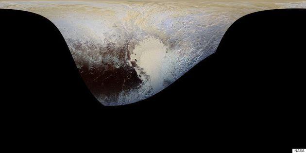 Οι φωτογραφίες της NASA από τον Πλούτωνα που μοιάζουν με δέρμα