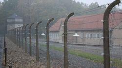 Πρόσφυγες έγκλειστοι στο ναζιστικό στρατόπεδο συγκέντρωσης του