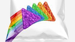 Εσείς θα τρώγατε Doritos στα χρώματα του ουράνιου