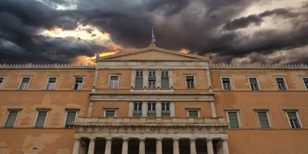 Parliament Building at Capital Cities Athens