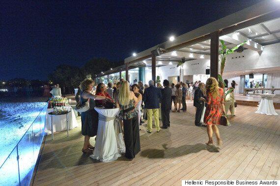 Η τελετή απονομής των Hellenic Responsible Business