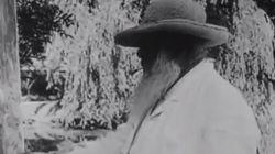 Σπάνιο βίντεο: Ο Claude Monet ζωγραφίζει στον κήπο του σπιτιού του στο