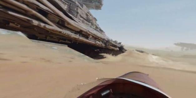 Star Wars: Εντυπωσιακό βίντεο 360 μοιρών στο