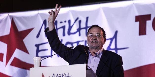 Λαφαζάνης: Το δίλημμα δεν είναι ΣΥΡΙΖΑ ή ΝΔ αλλά μνημόνια ή απαλλαγή από