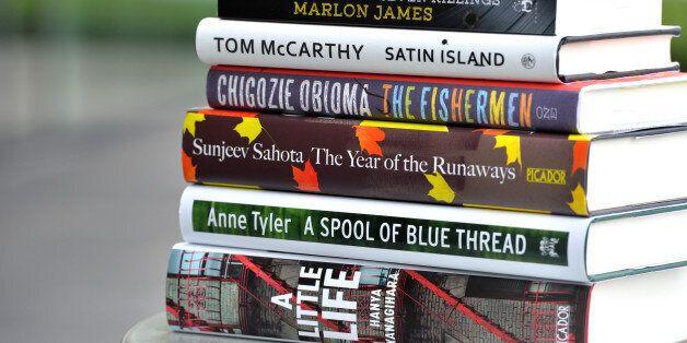 LONDON, ENGLAND - SEPTEMBER 15: 2015 Man Booker Prize for Fiction shortlisted books on September 15,...