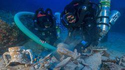 Αμφορείς, επιτραπέζια παιχνίδια και ένα θρόνο αποκάλυψε νέα ανασκαφή στο Ναυάγιο των