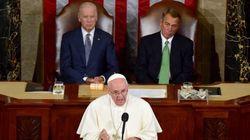 Iστορική ομιλία του Πάπα Φραγκίσκου στις ΗΠΑ ο οποίος απευθύνεται και στα δύο σώματα του