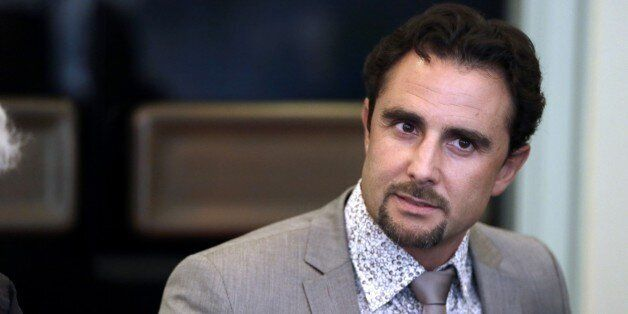 Former French employee of HSBC Private Bank Herve Falciani is seen on July 2, 2013 during his audition...