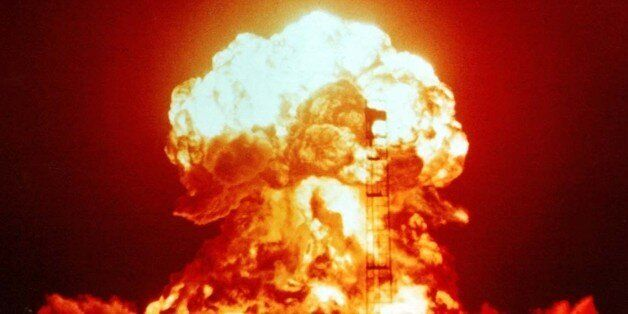 XX-34 BADGER (yield 23 kt) - an atmospheric nuclear test performed by the U.S. on 18April 1953 as part...