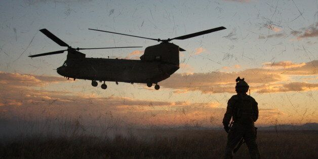 Support Soldiers from 3rd Battalion, 10th Special Forces Group (Airborne), flown by 2nd General Support...