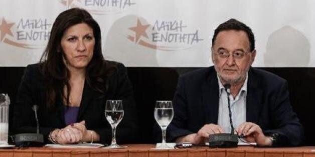 Λαφαζάνης: Έρχεται μνημονιακός Αρμαγεδδών. Κωνσταντοπούλου: Αυτή η Βουλή δεν αντιπροσωπεύει άνω του 50%...