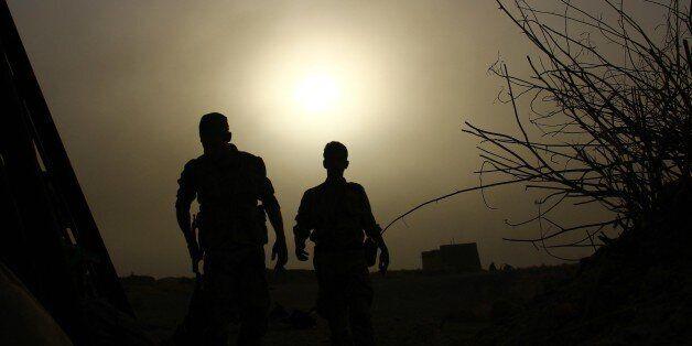 DAMASCUS, SYRIA - SEPTEMBER 12: Syrian opposition members fight against Assad Regime Forces in Tall Kurdi...